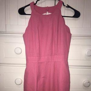 pink lauren james landry seersucker dress